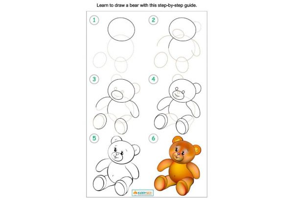Art - Learn To Draw A Bear