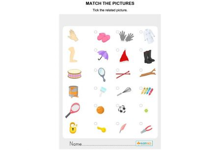 Logic & Puzzles - Match The Pictures