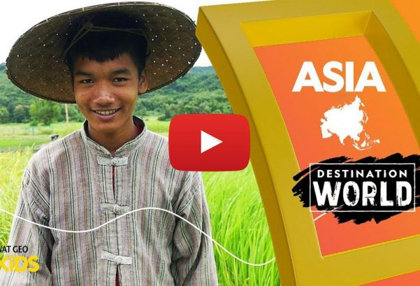 National Geographic Kids: Asia | Destination World