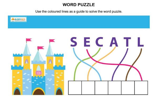 LANGUAGE - Word Puzzle