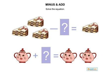 Numbers - Minus & Add