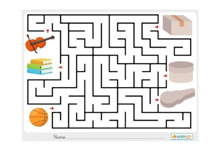 Logic & Puzzles - Box Maze