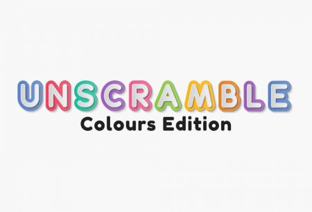 Unscramble - Colours Edition