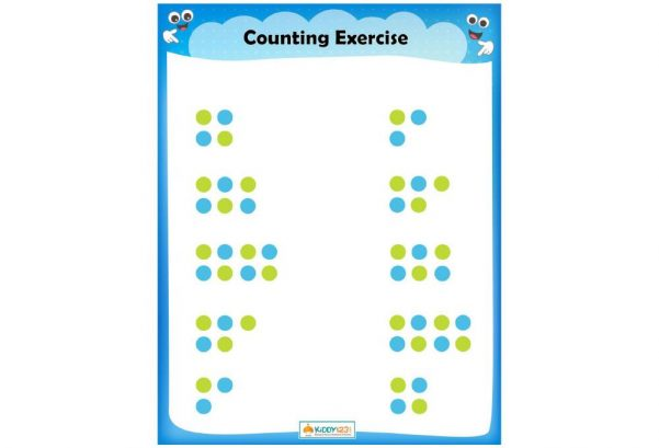 Numbers - Count the Dots