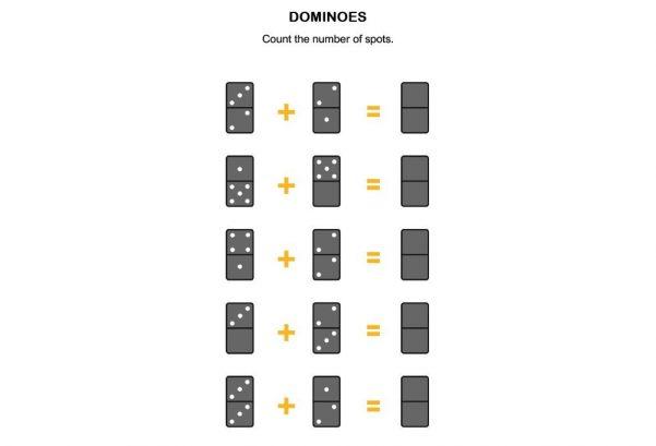 NUMBERS - Dominoes
