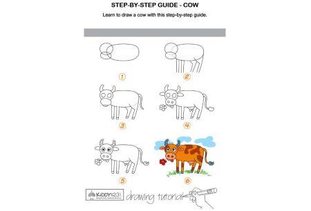 Art - Draw A Cow