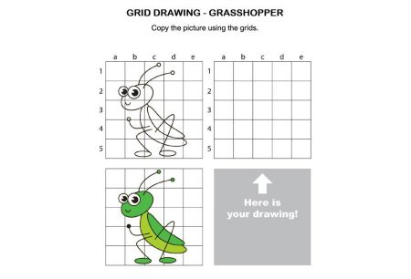 Art - Grid Drawing Grasshopper