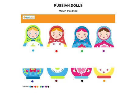 Logic & Puzzles - Russian Dolls