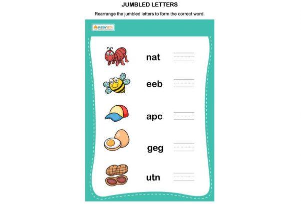 LANGUAGE - Jumbled Letters