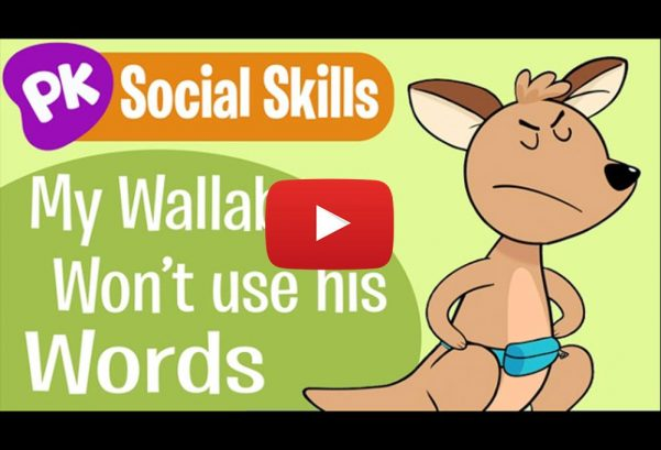 PlayKids: My Wallaby Won't Use His Words! Social Skills Songs for Kids