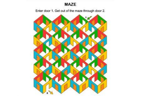 Logic & Puzzles - Maze