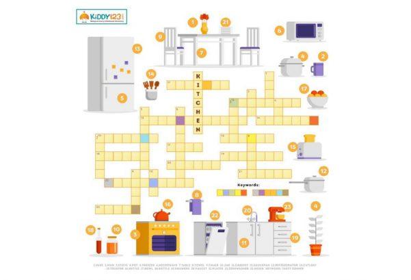 LANGUAGE - Crossword Kitchen