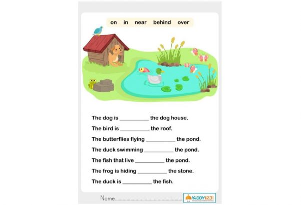 LANGUAGE - Prepositions