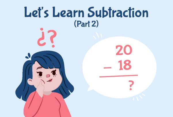 Let's Learn Subtraction! (Part 2)