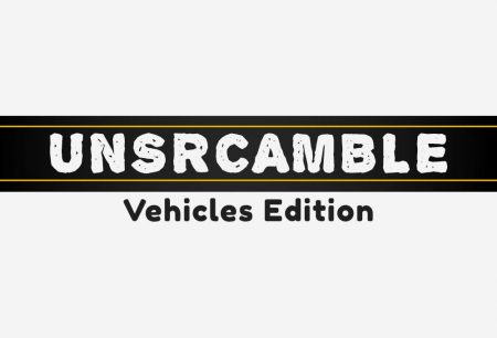 Unscramble - Vehicles Edition