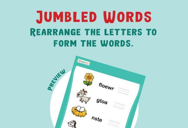 Language - Jumbled Words