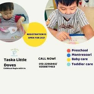 2021 REGISTRATION @ Taska Little Doves (Wholly Own by Jolly Seeds Educare Sdn Bhd),USJ (Subang Jaya)