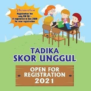 Open For Registration 2021 @ Tadika Skor Unggul, Puchong Prima
