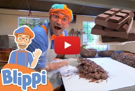 Blippi: Blippi Visits A Chocolate Factory | Educational Videos For Kids