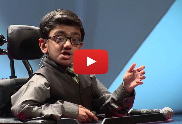 TEDx Talks: How a 13-year-old changed 'Impossible' to 'I'm Possible'