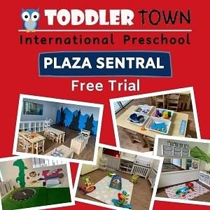 FREE Trial @ Toddler Town International Preschool, Plaza Sentral