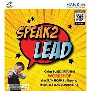 SPEAK2LEAD ONLINE Public Speaking Workshop @ HANKidz Academy