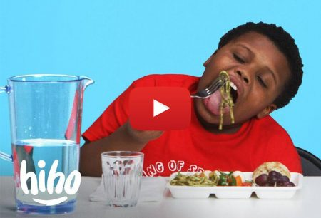 HiHo Kids: Kids Try School Lunches From Around the World