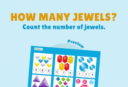 Numbers - How many jewels?