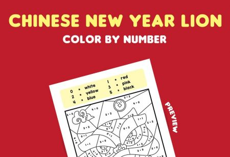 Numbers - Chinese New Year Lion