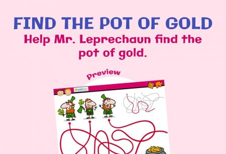 Logic & Puzzles - Find the pot of gold