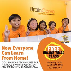 BrainCarve Online Class @ BrainCarve Malaysia, Subang Jaya