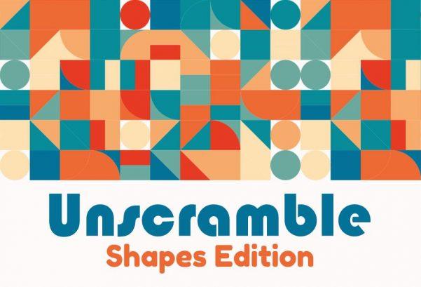 Unscramble - Shapes Edition