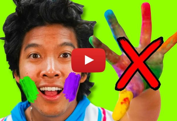 MarMar Land: Don't Touch Your Face! Paint Challenge to Learn About Germs!