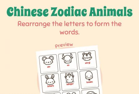 Language - Chinese zodiac animals