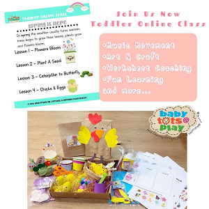 Toddler Online Class - Spring Is Here @ Babytots@Play, Bandar Botanic
