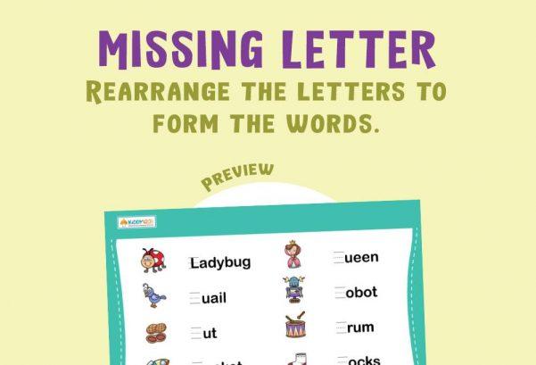 Language - Missing Letter