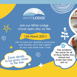 Virtual Open House @ White Lodge International Preschool and Nursery