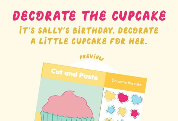 Art - Decorate the cupcake