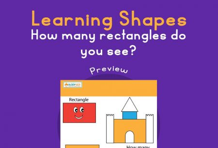 Numbers - Learning shapes