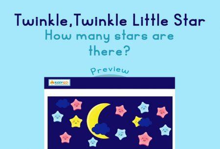 Numbers - Twinkle, twinkle little star