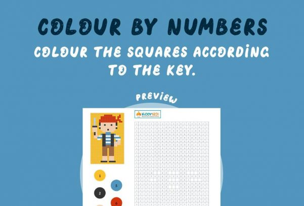 Art - Colour by numbers