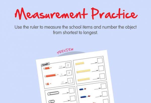 Science - Measurement practice
