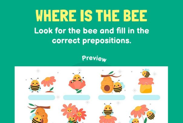 Language - Where is the bee?