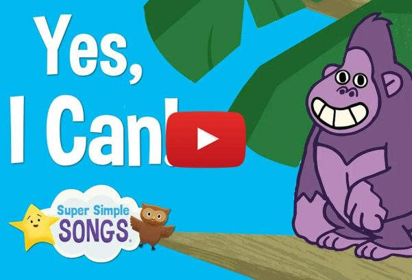 Super Simple Songs: Yes I Can! | Animal Song for Children