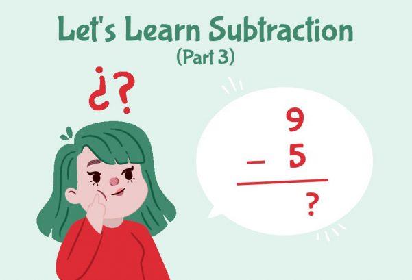 Let's Learn Subtraction! (Part 3)