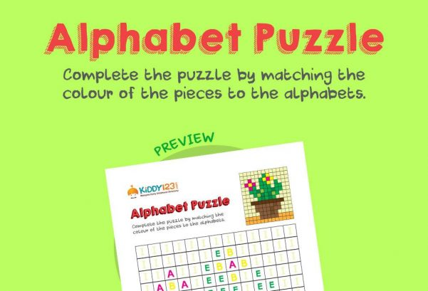 Logic & Puzzles - Alphabet Puzzles