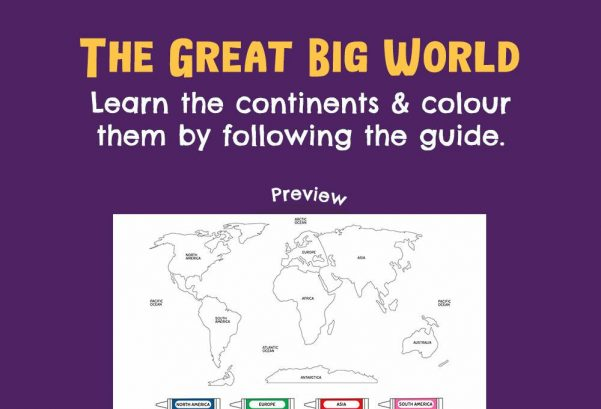 Social Studies - The great big world