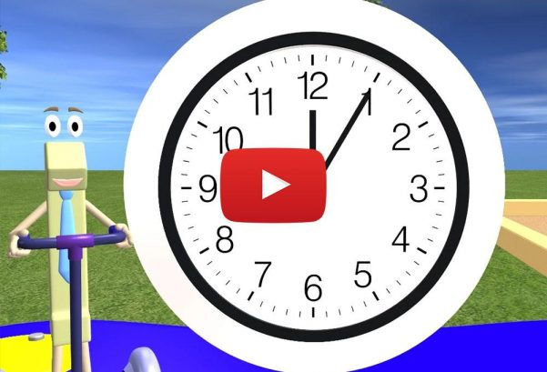 Math & Learning Videos 4 Kids: Telling Time For Children