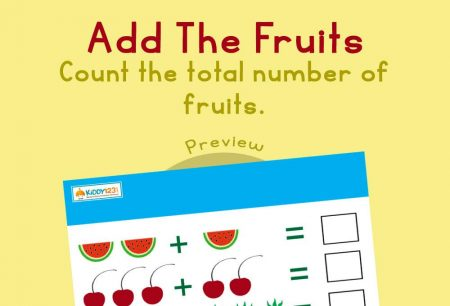 Numbers - Add the fruits