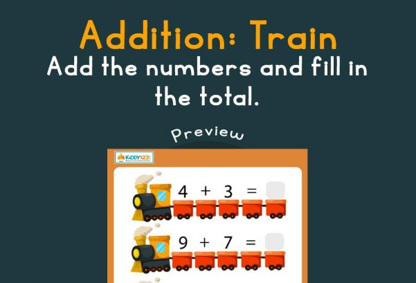 Numbers - Addition: Train